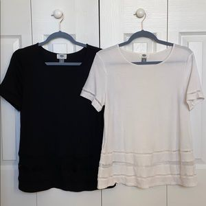 Two Old Navy shirts